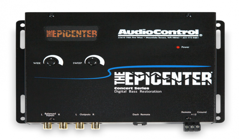 AUDIO CONTROL - EPICENTRO AUDIO CONTROL